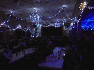Les illuminations de la salle des fêtes de Labourse