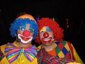 Mario et Charly's les clowns rigolos