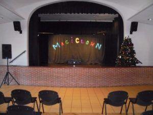Tout est prêt pour le spectacle Magiclown