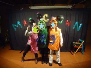 Zezette, Dédé et Casimir prêts pour danser.....un grand moment!!