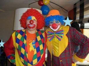 Les clowns Charly's et Mario