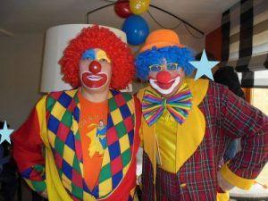 Les clowns Charly's et Mario