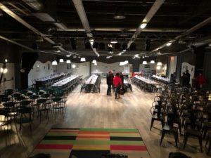 La salle pour le spectacle Magiclown au Planet Show de Lomme