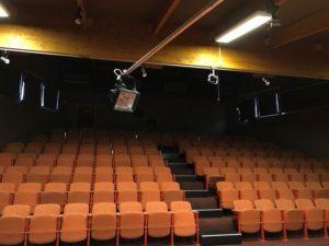 La salle pour le spectacle de Wattrelos