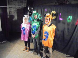 Les candidats de danse avec les clowns